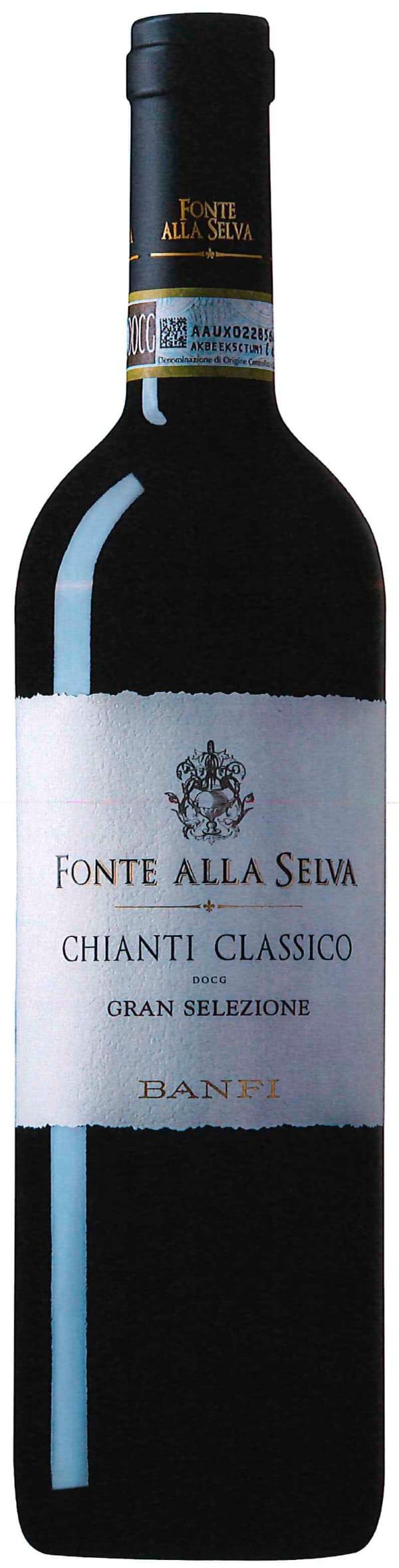 Banfi Fonte Alla Selva Chianti Classico Gran Selezione 2014