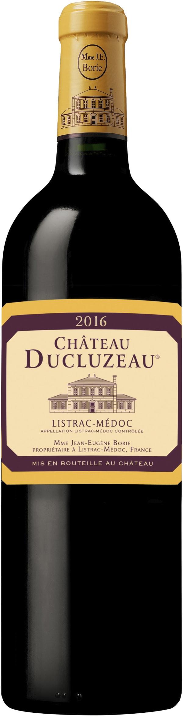 Château Ducluzeau 2016