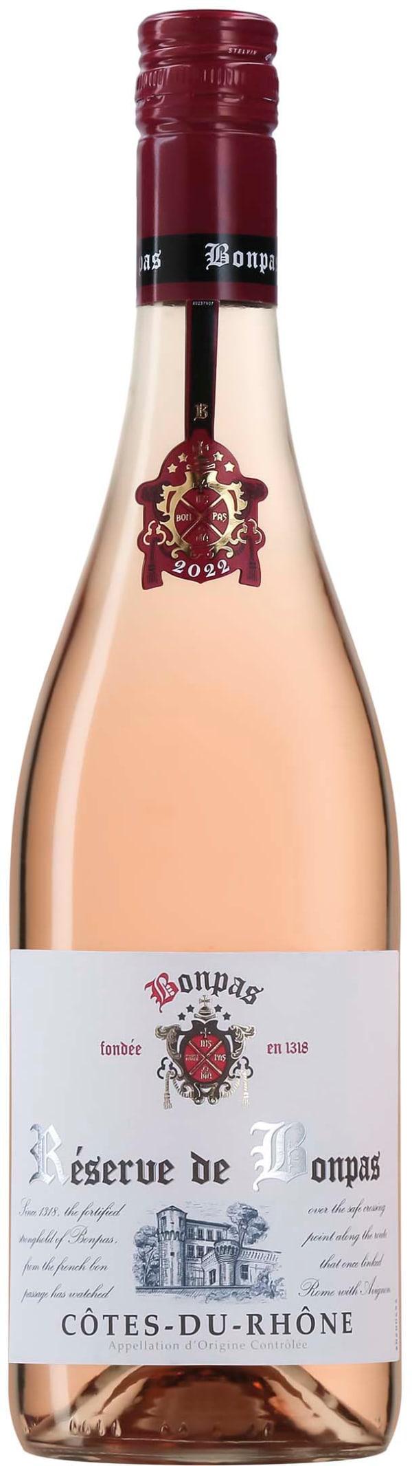 Bonpas Côtes-du-Rhône Rosé 2019