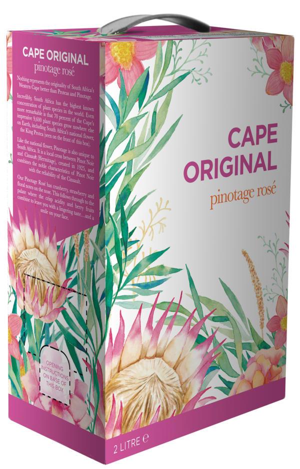Cape Original Pinotage Rosé 2018 bag-in-box
