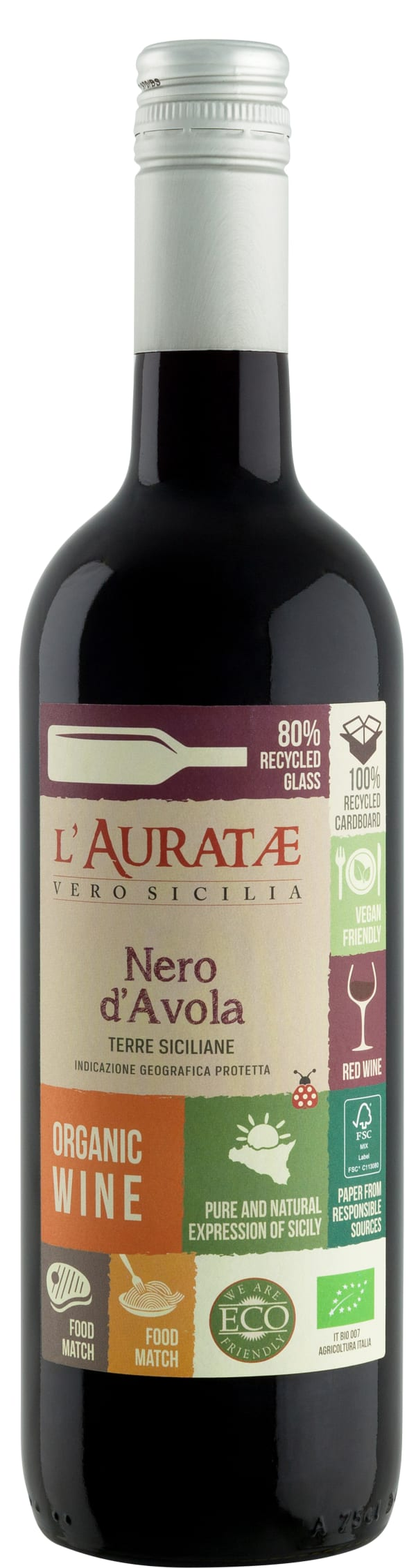 L'Auratae Nero d'Avola 2018