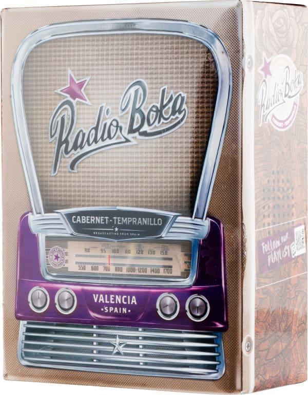 Radio Boka Cabernet Sauvignon Tempranillo 2018 lådvin