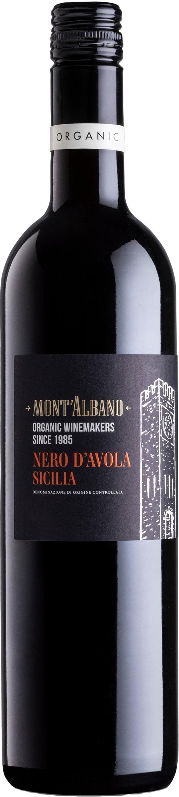 Mont'Albano Organic Nero d'Avola 2018