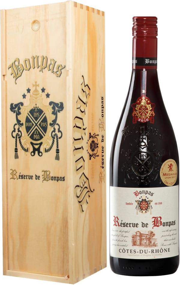 Bonpas Côtes du Rhône 2018 presentförpackning