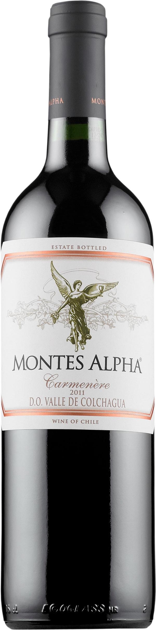 Montes Alpha Carmenère 2014