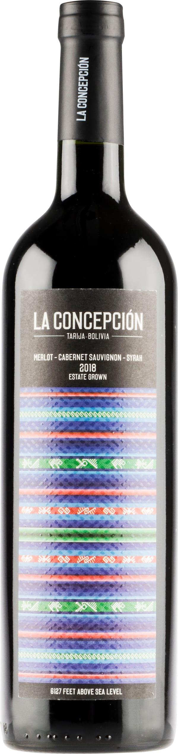 La Concepción Merlot Cabernet Sauvignon Syrah 2018