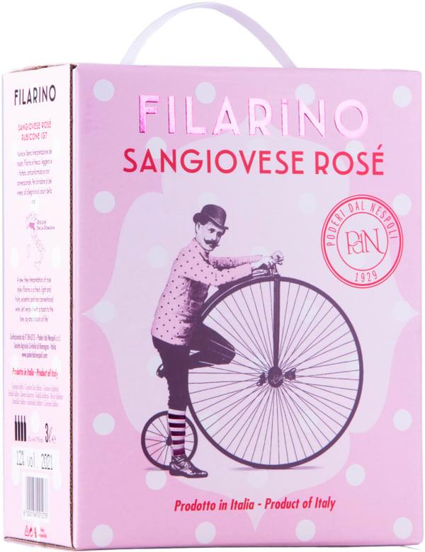 Filarino Sangiovese Rosé 2018 hanapakkaus