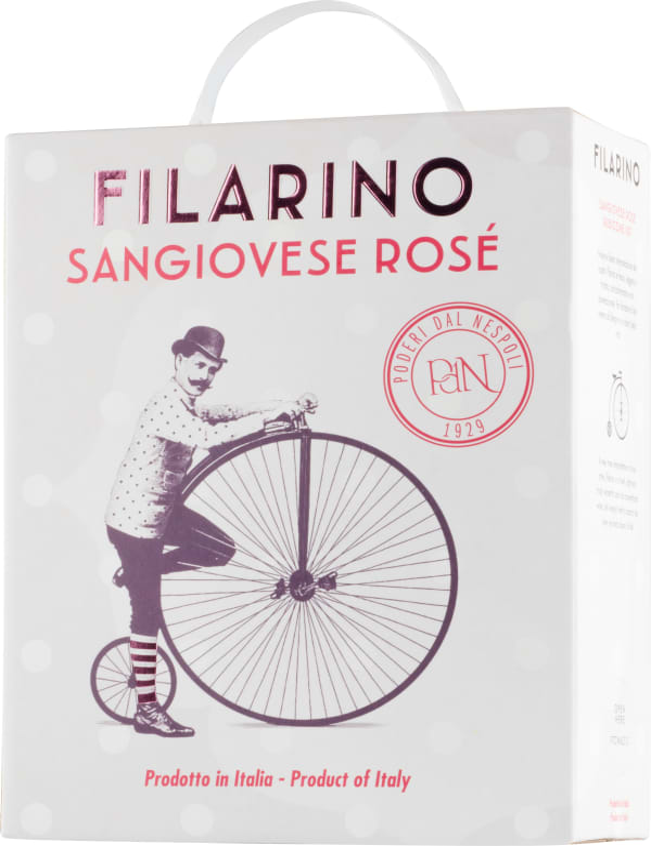 Filarino Sangiovese Rosé 2020 bag-in-box