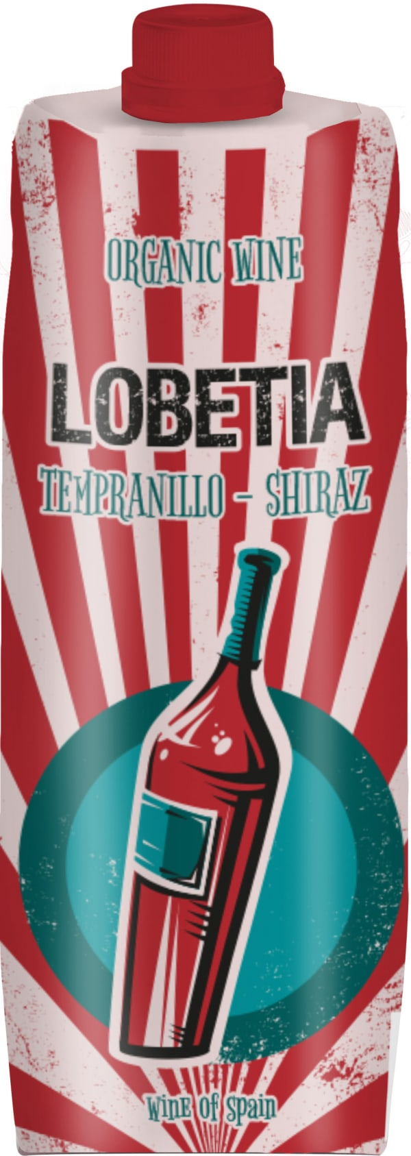 Lobetia Tempranillo Shiraz 2019 kartongförpackning