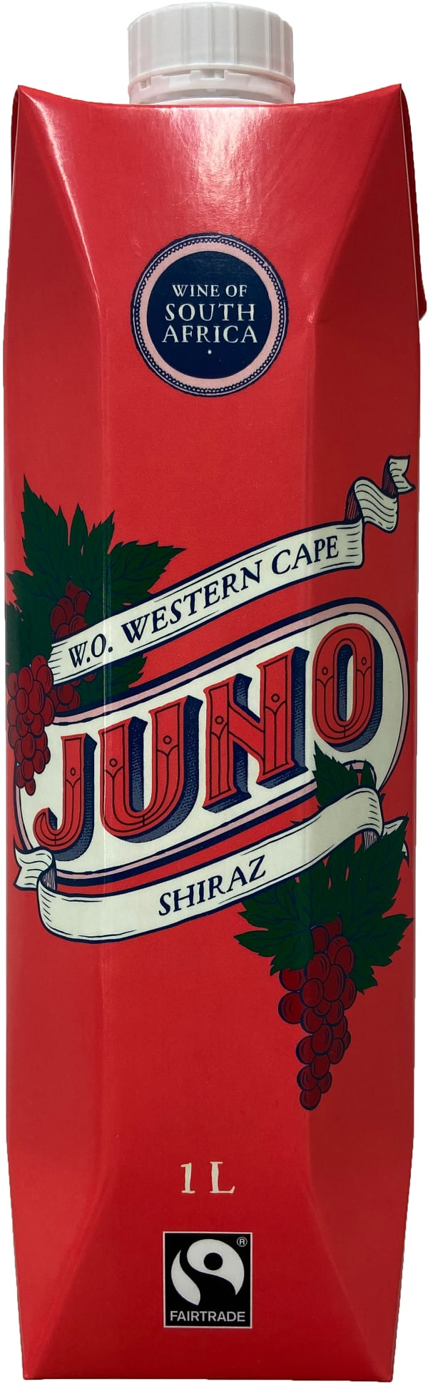 Juno Shiraz 2019 kartongförpackning