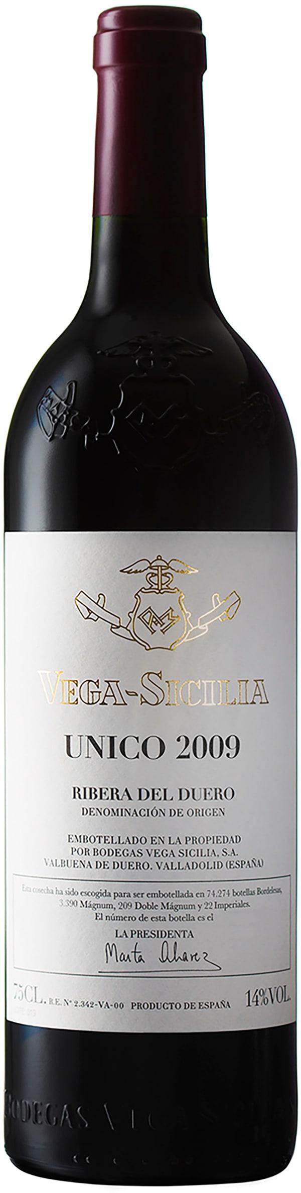 Vega-Sicilia Unico 2009