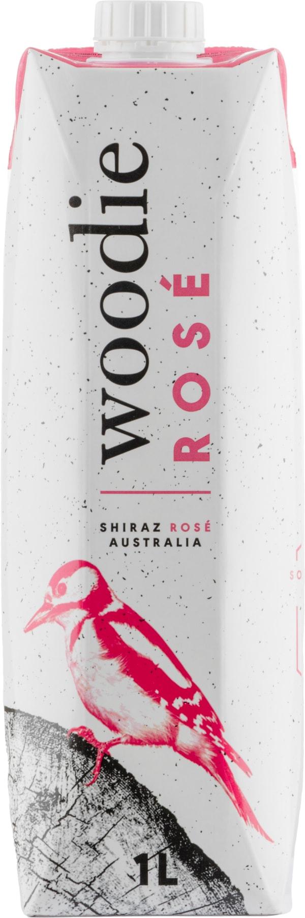 Woodie Rosé 2018 kartongförpackning