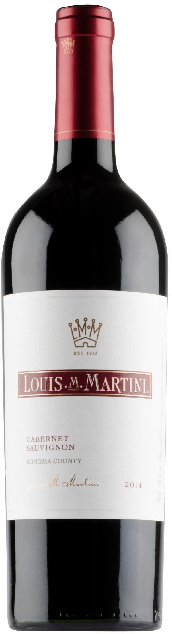 Louis M. Martini Cabernet Sauvignon 2014