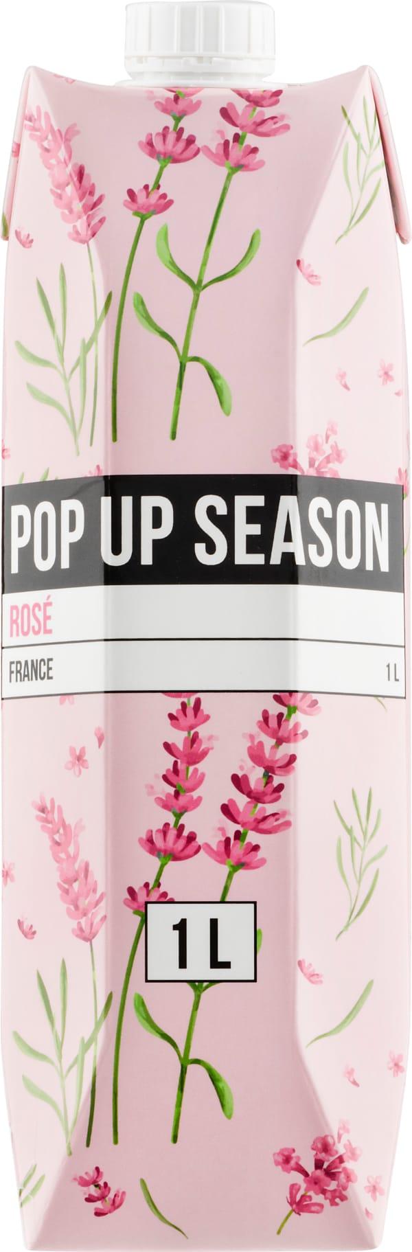 Pop Up Season Rosé 2019 carton package