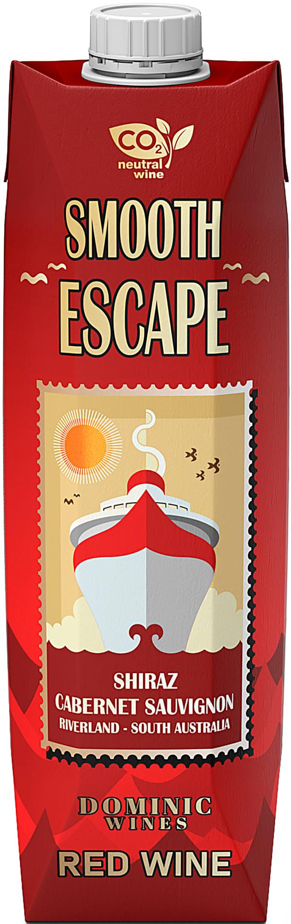 Smooth Escape Shiraz Cabernet 2020 kartongförpackning