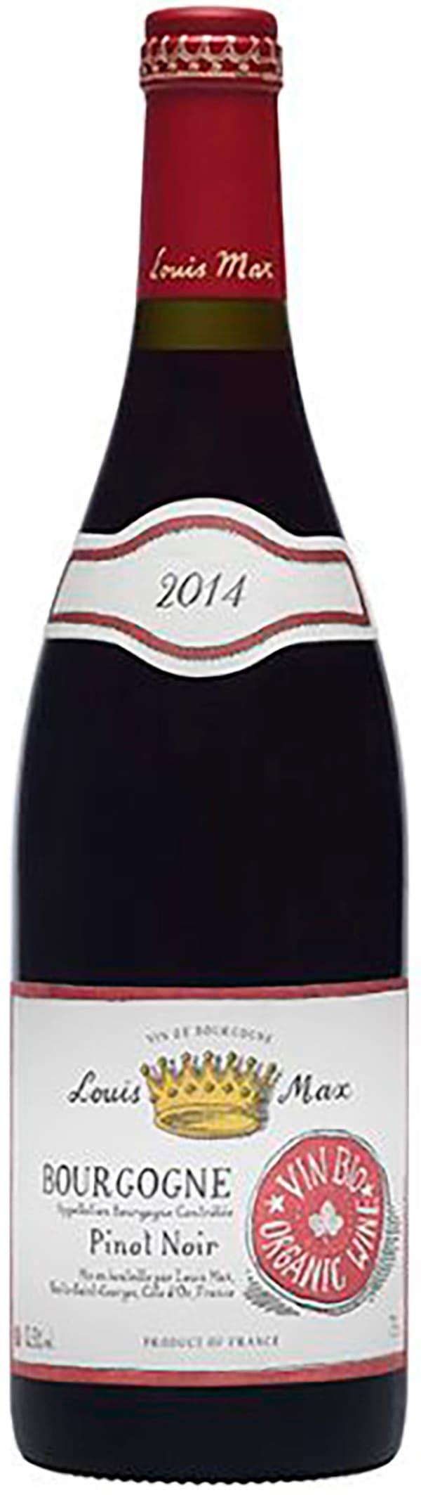 Louis Max Bourgogne Organic Pinot Noir 2017