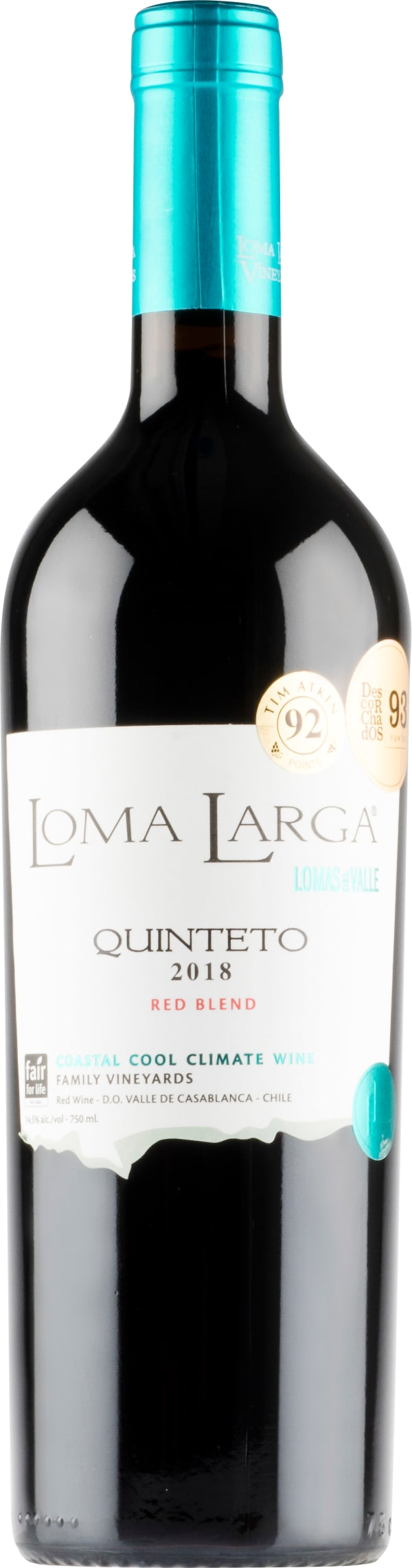 Loma Larga Quinteto Red Blend 2018