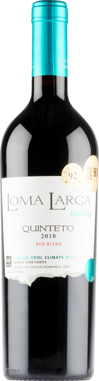 Loma Larga Quinteto Red Blend 2018