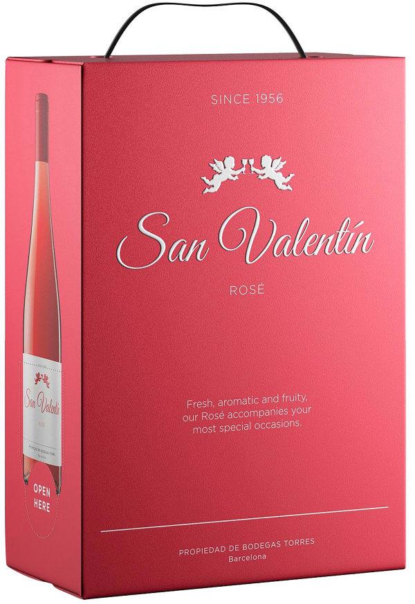 Torres San Valentin Rose 2018 bag-in-box