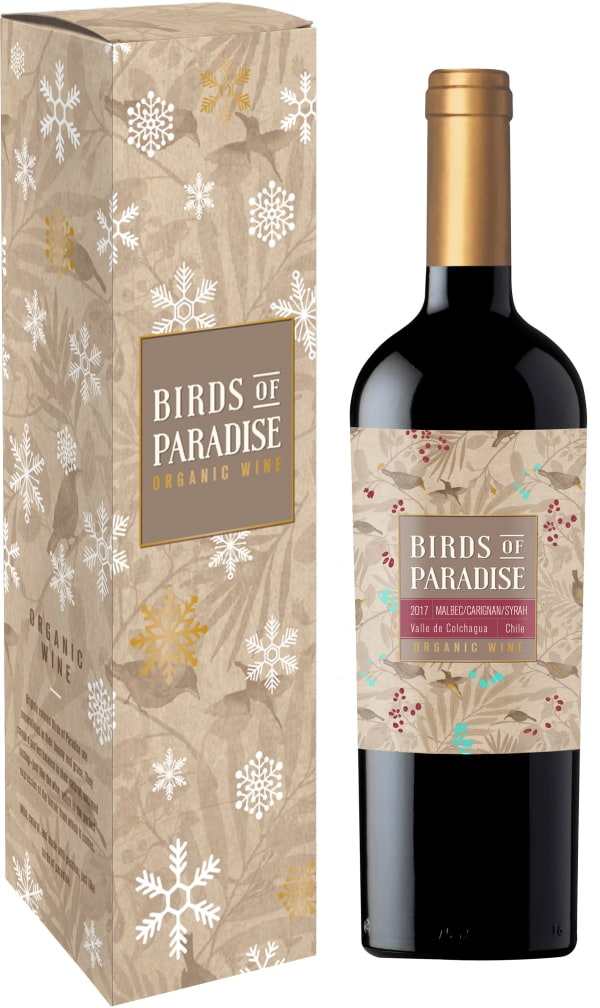 Birds of Paradise Organic 2016 gift packaging