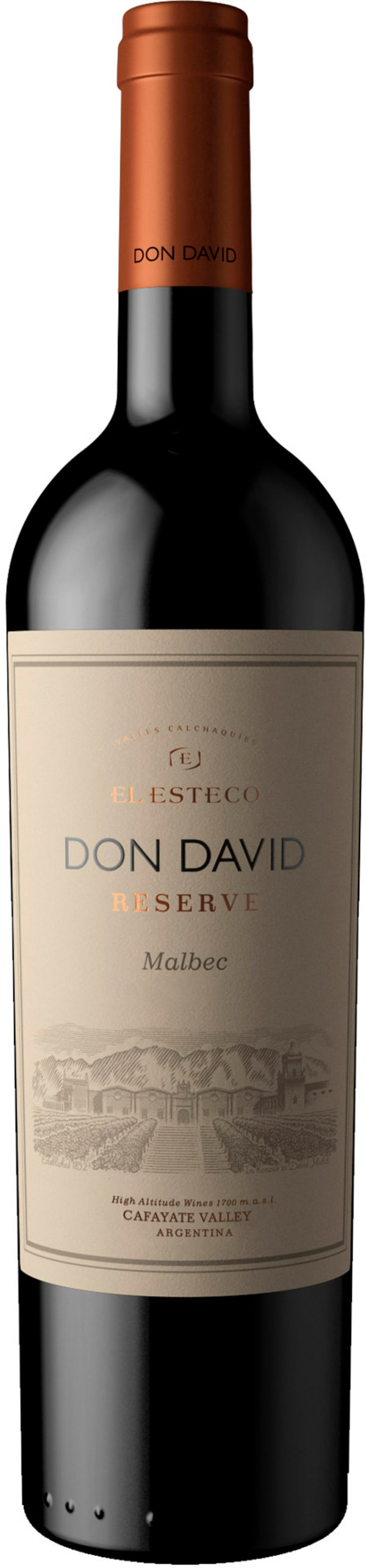 Don David Malbec Reserve 2017