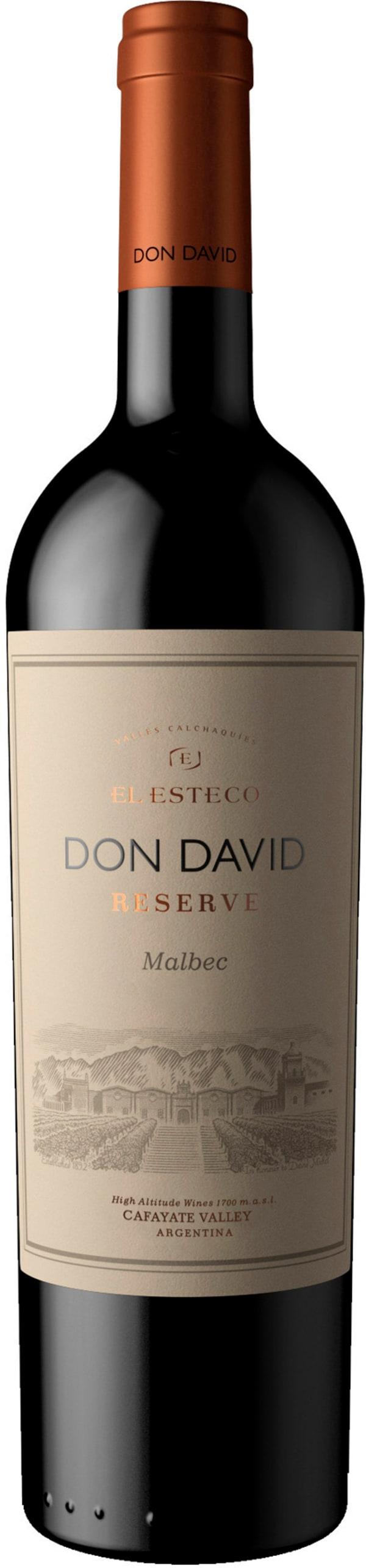 Don David Malbec Reserve 2019 presentförpackning