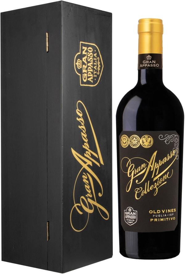 Gran Appasso Collezione Old Vines Primitivo 2017 gift packaging