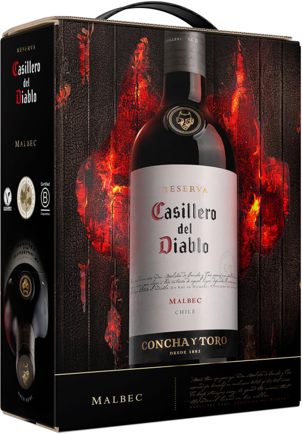 Casillero del Diablo Malbec 2018 bag-in-box