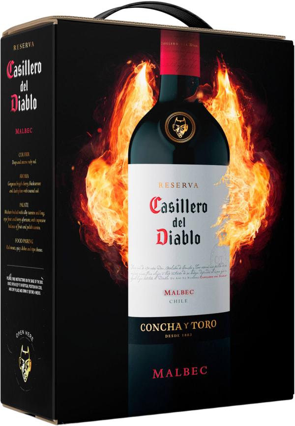Casillero del Diablo Malbec 2018 lådvin