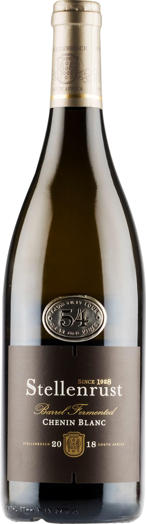 Stellenrust 54 Year Old Vines Barrel Fermented Chenin Blanc 2018