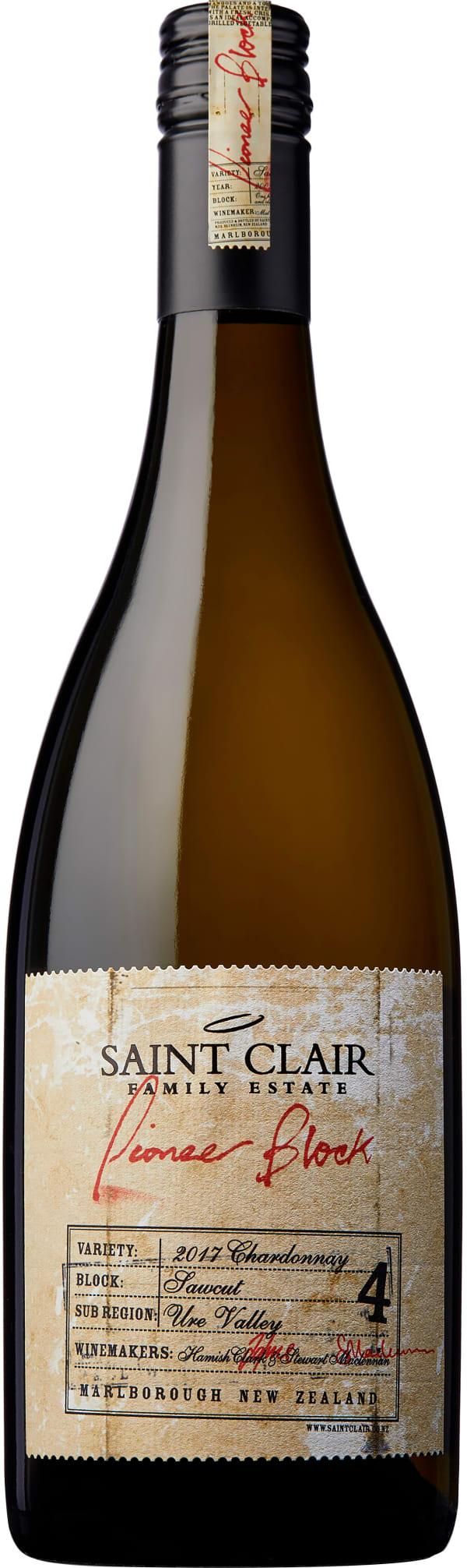 Saint Clair Pioneer Block Sawcut Chardonnay 2018