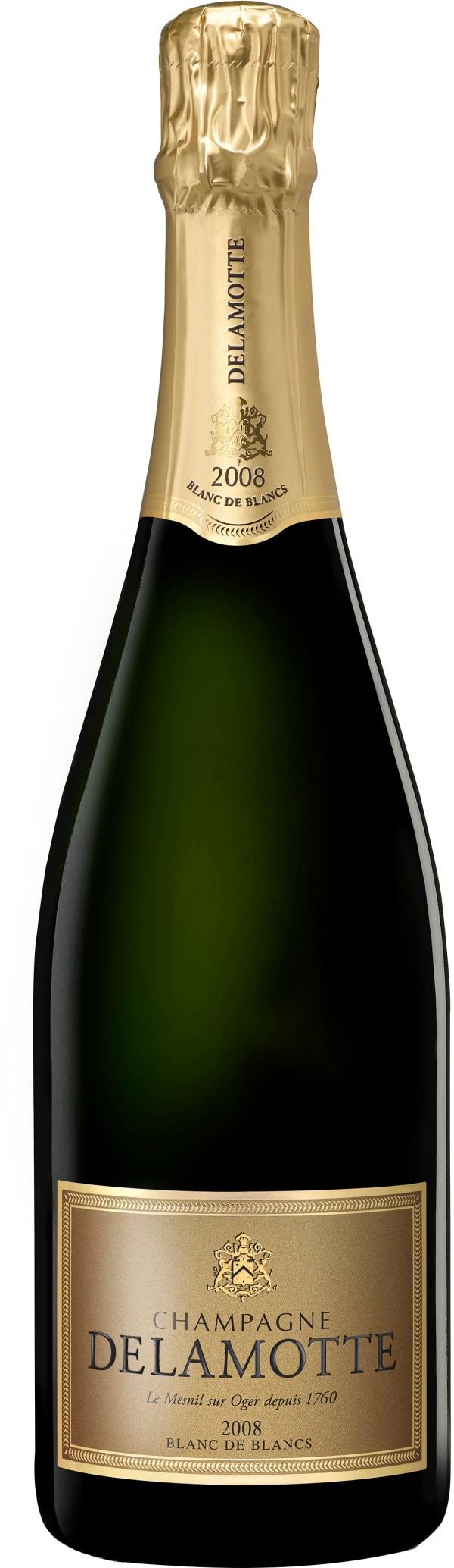 Delamotte Blanc de Blancs Millésimé Champagne Brut 2008