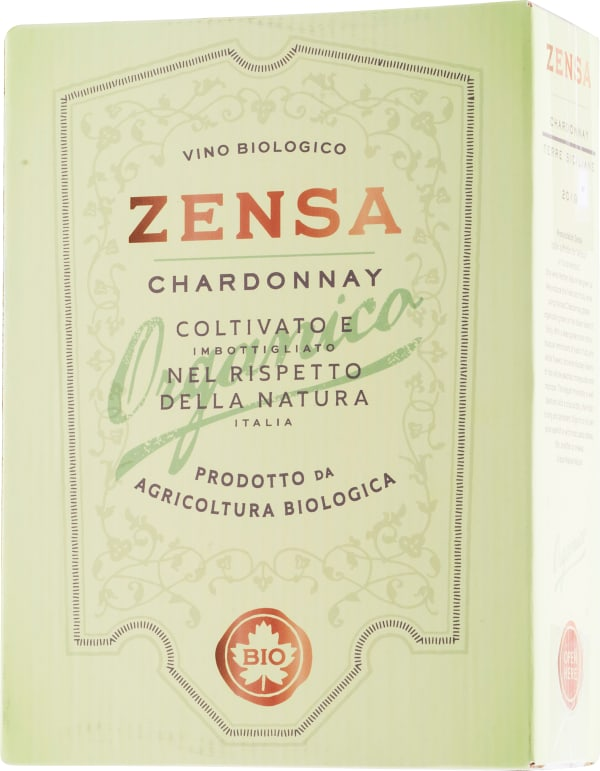 Zensa Chardonnay Organico 2020 bag-in-box