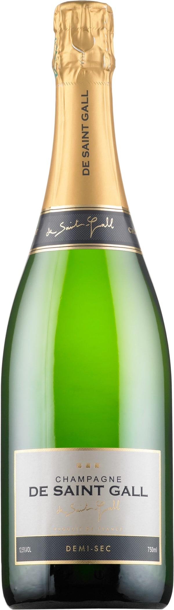 De Saint Gall Champagne Demi-Sec