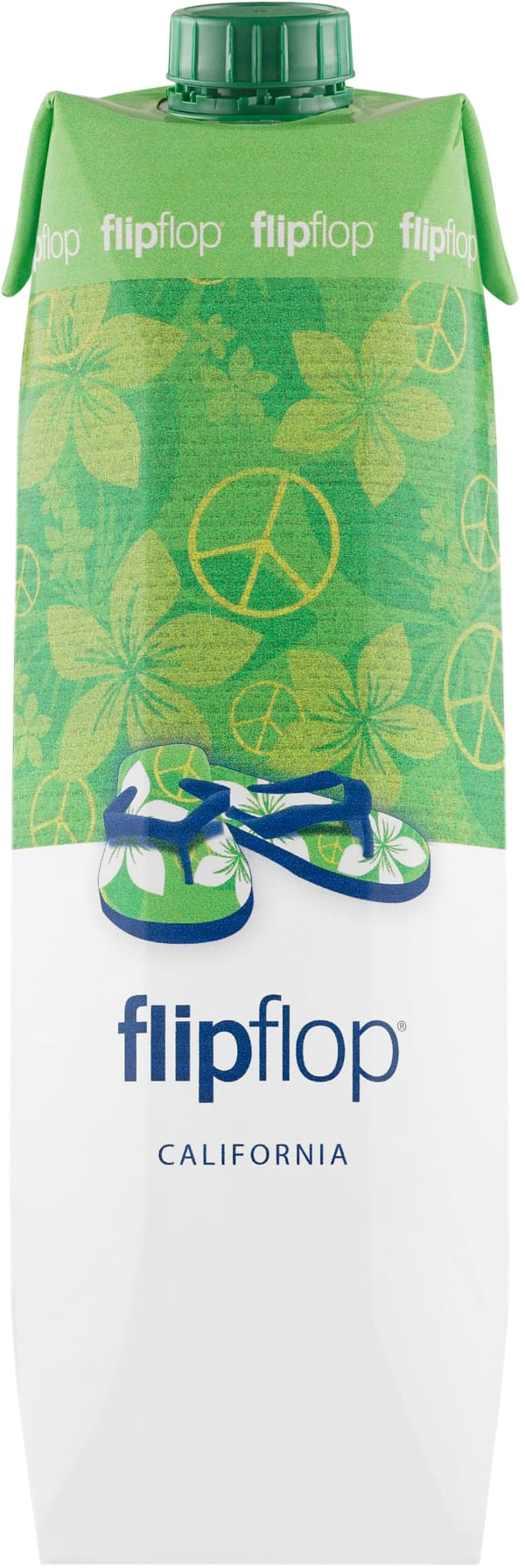 FlipFlop Californian White 2017 kartongförpackning