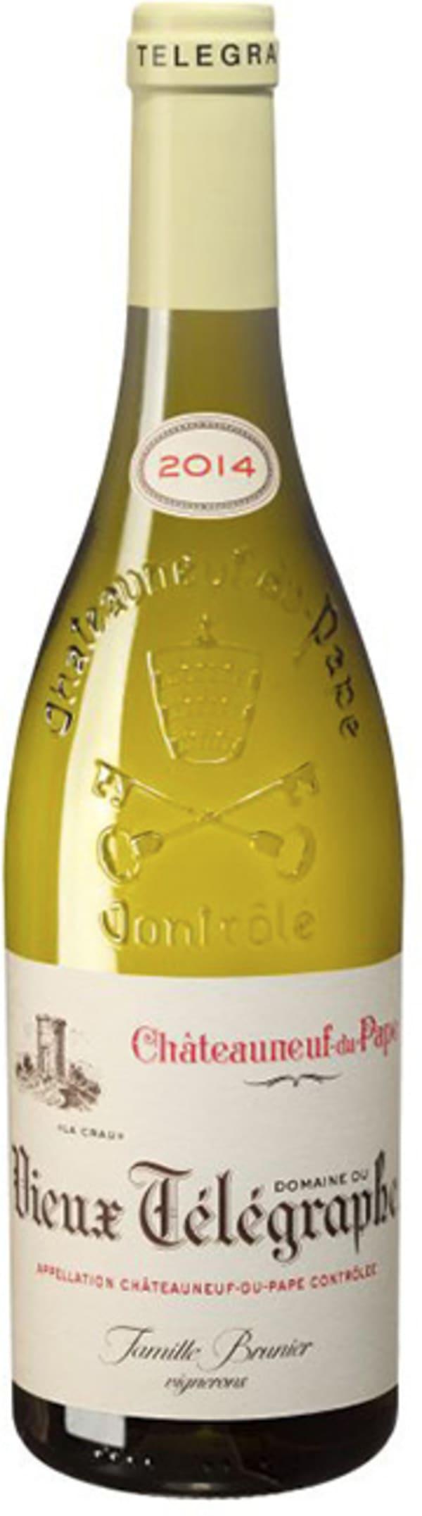 """Domaine du Vieux Telegraphe Châteauneuf-du-Pape Blanc """"La Crau"""" 2018"""