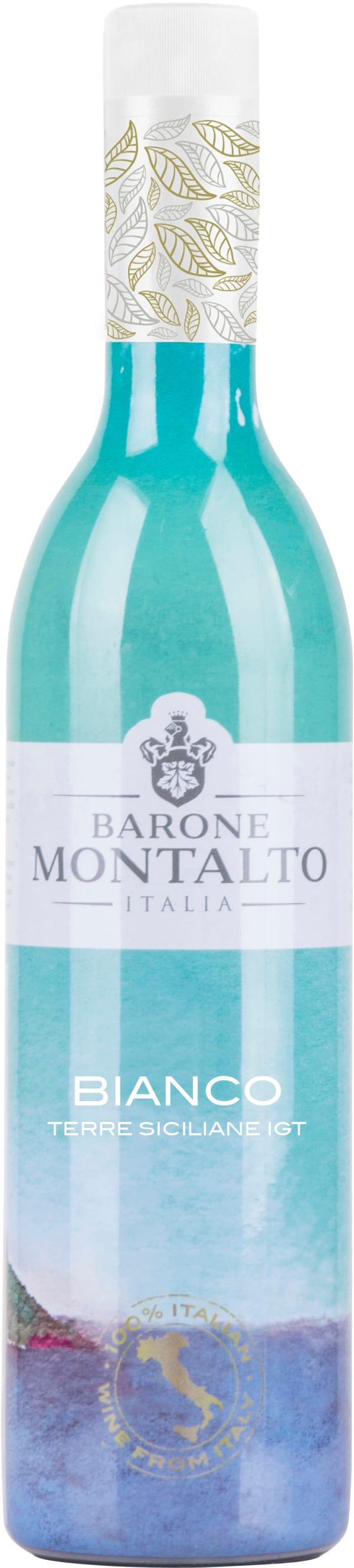 Montalto Bianco 2017 plastic bottle