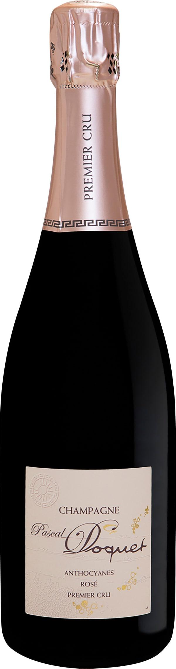 Pascal Doquet Anthocyanes Premier Cru Rosé Champagne Extra-Brut