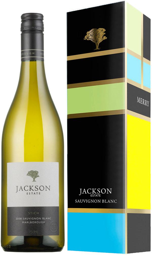 Jackson Estate Stich Sauvignon Blanc 2017 presentförpackning