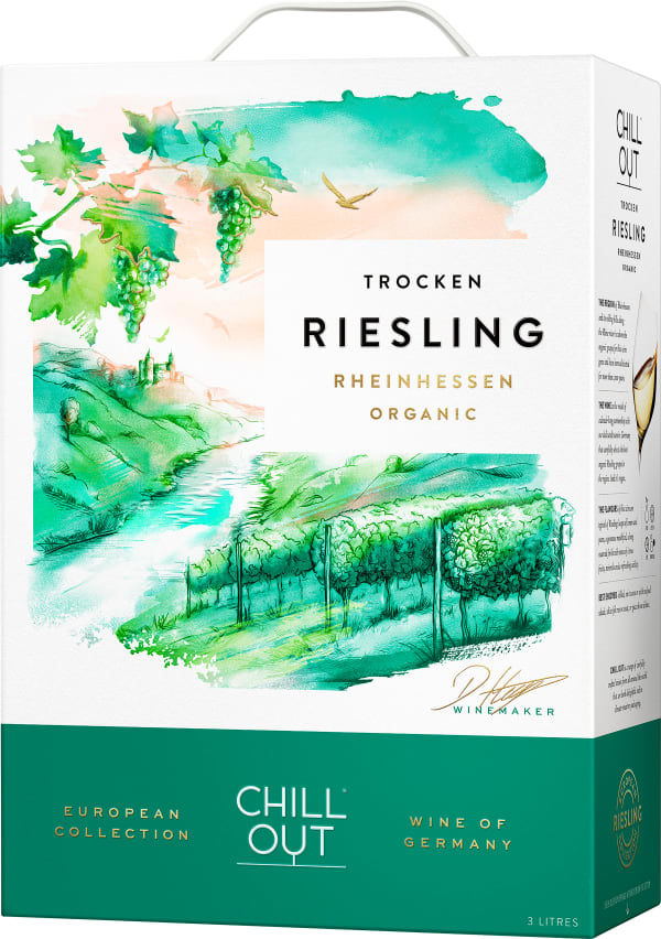 Chill Out Organic Riesling 2018 bag-in-box