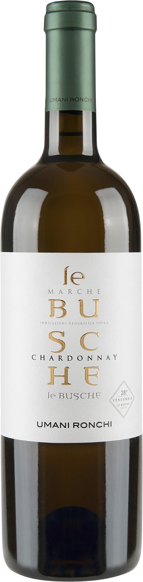 Umani Ronchi Le Busche Chardonnay 2018