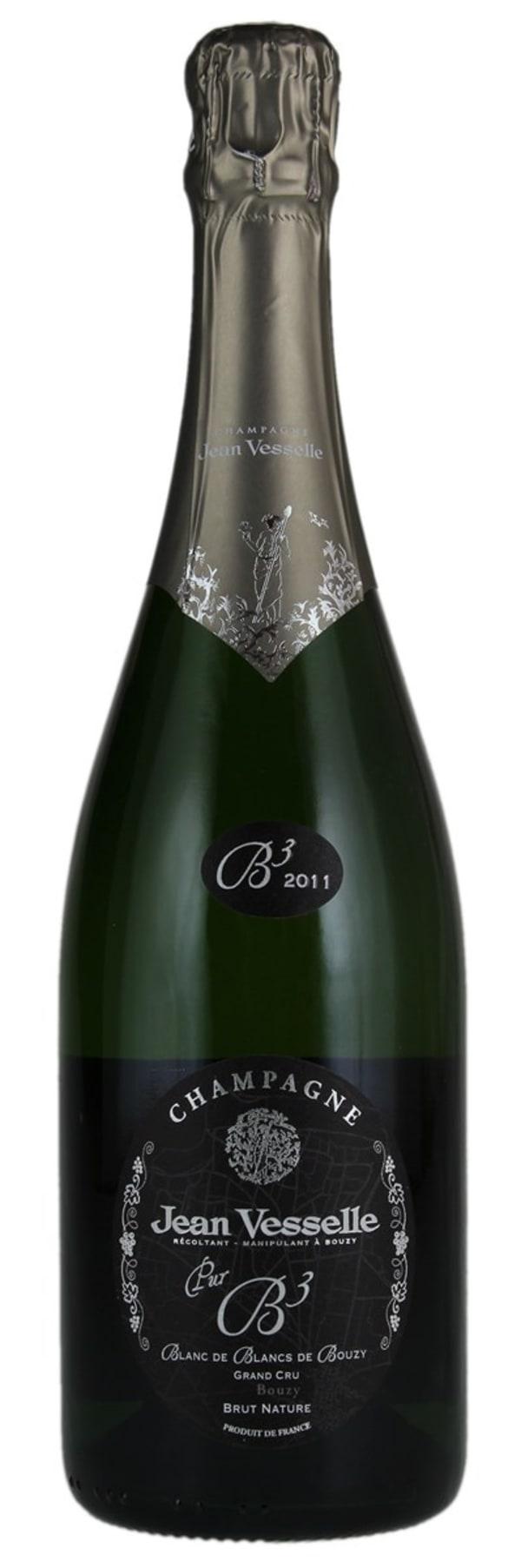 Jean Vesselle Pur B3 Blanc de Blancs de Bouzy Grand Cru Champagne Brut Nature 2012