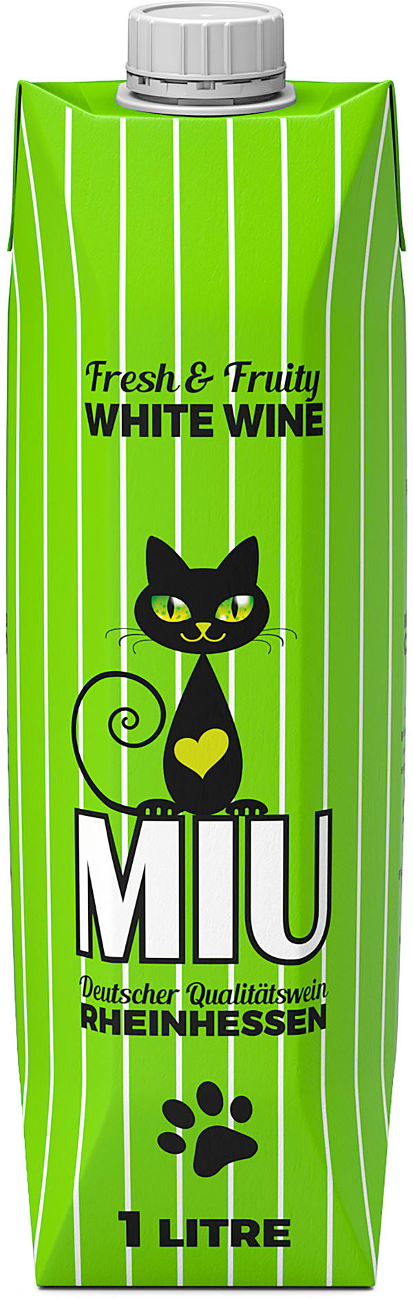 Miu White Wine 2019 carton package