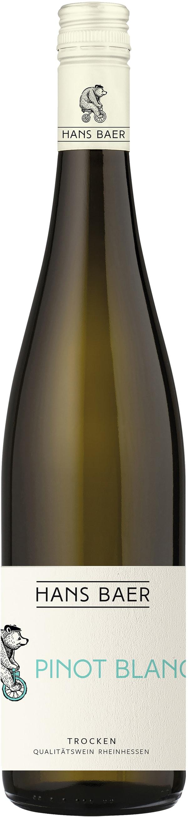 Hans Baer Pinot Blanc 2018