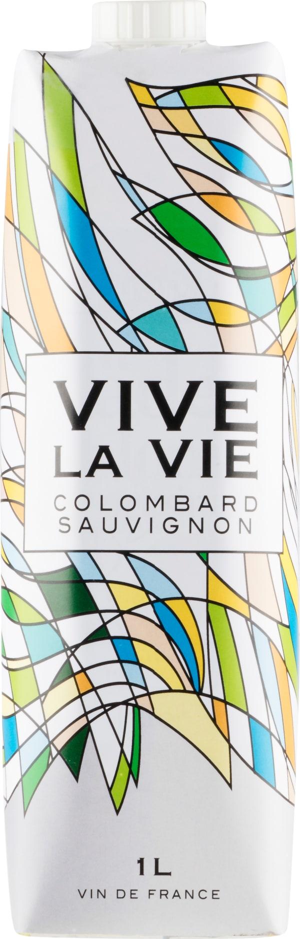Vive la Vie Colombard Sauvignon 2018 kartongförpackning