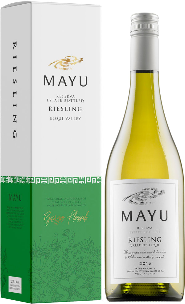 Mayu Riesling 2018 presentförpackning