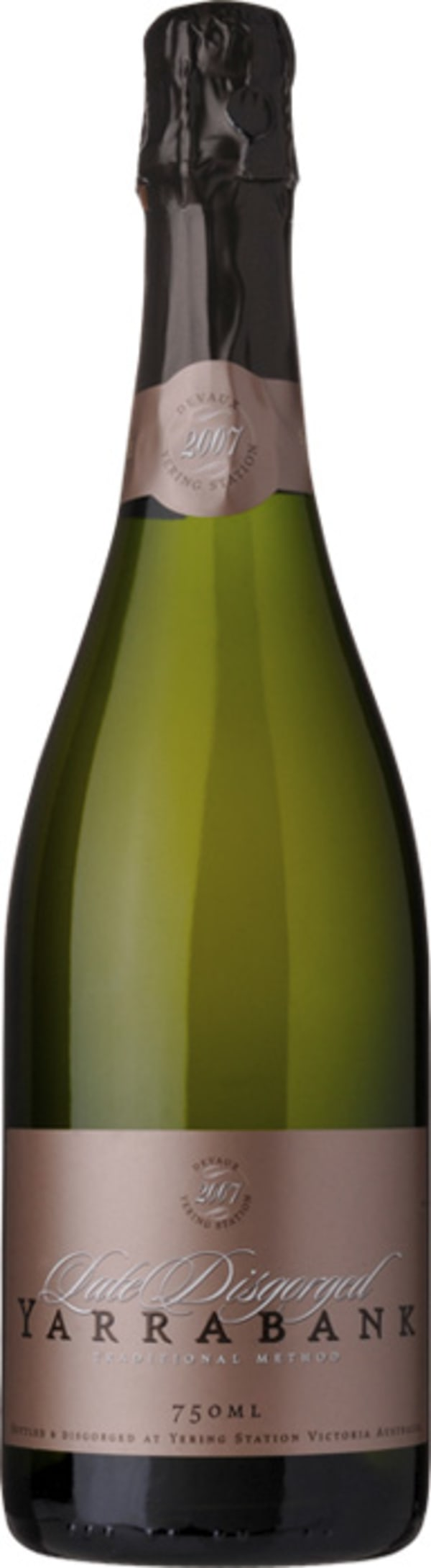 Yarrabank Late Disgorged Brut Nature 2007