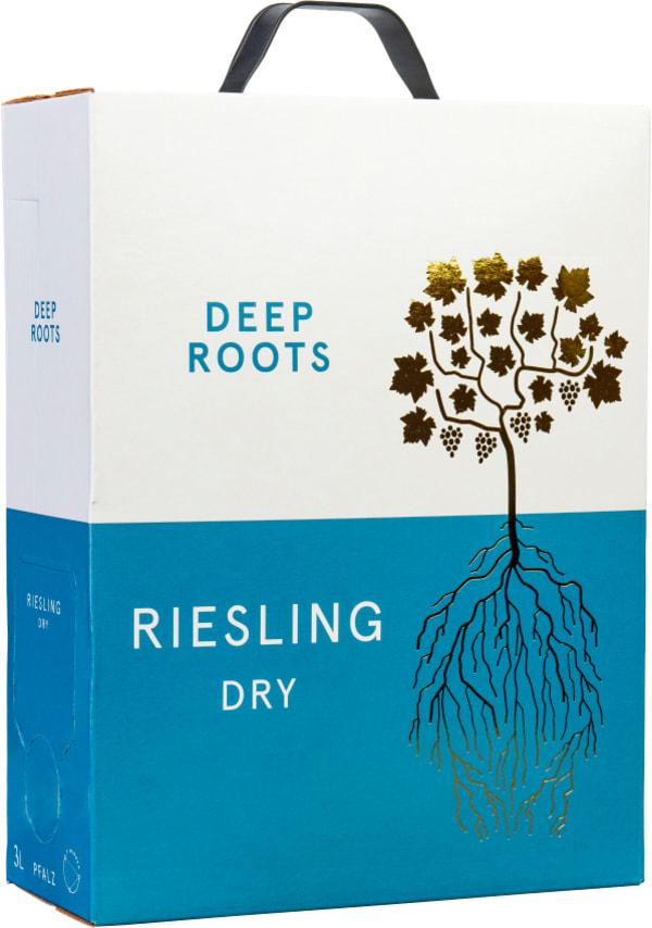 Deep Roots Riesling Trocken 2017 hanapakkaus