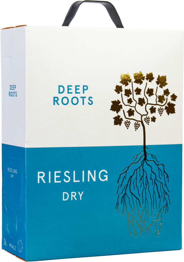 Deep Roots Riesling Trocken 2020 lådvin