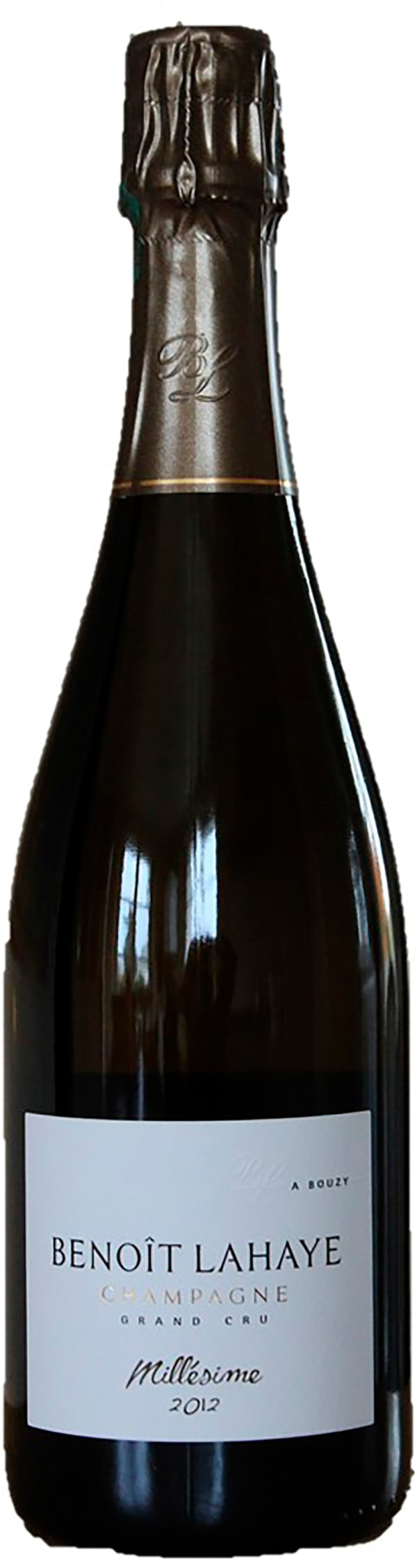 Benoit Lahaye Grand Cru Millésime Champagne Extra Brut 2012